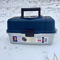 Ящик для рыбалки 3 ПОЛКИ Aquatech 2703