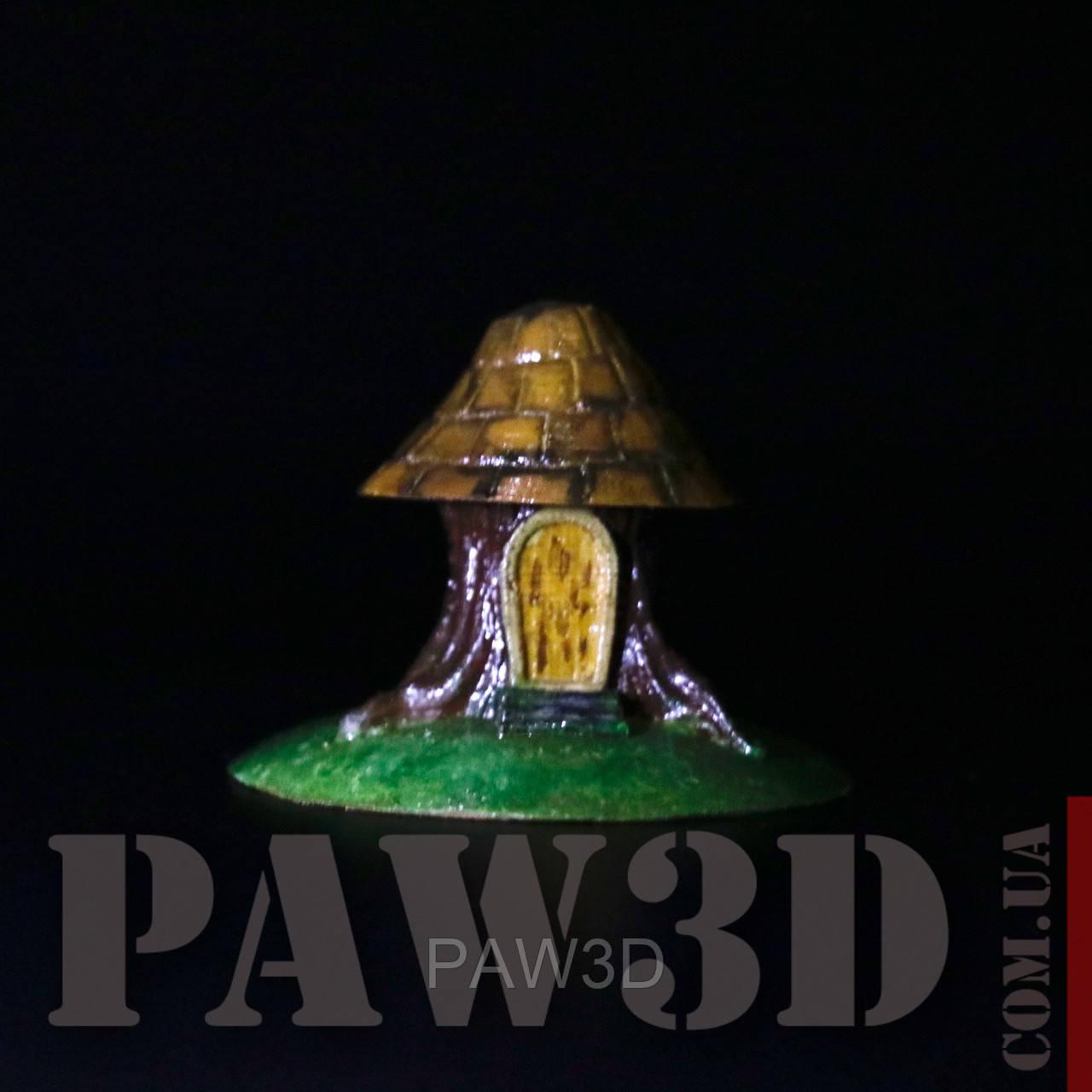 Домик-пень миниатюра для терран