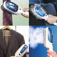 Ручной отпариватель для одежды TOBI Steam Brush, паровой утюг, щетка-утюг SMU Shop