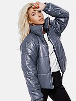 Стеганая куртка-oversize. Женская верхняя одежда. Женские куртки