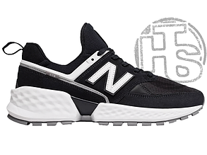 Мужские кроссовки New Balance 574 Sport V2 Black/White MS574NSA