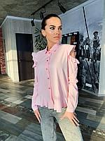 Блуза с открытыми плечами К 00496 с 01
