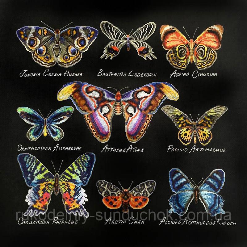 Набор для вышивания крестом ТМ Марья Искусница 14.001.08 Бабочки