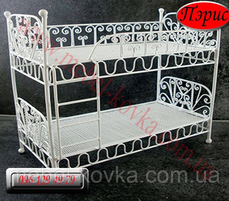 """Дитяча металева ліжко"""" Періс"""" (90 см х 190 см)"""