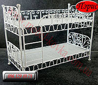"""Детская металлическая кровать"""" Пэрис"""" (90 см на 190 см)"""