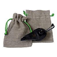 Подарункові мішечки з льону з вашим лого, фото 1