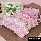 Детское постельное белье Принцеса Бязь Полуторный K-G-N-7071-pink