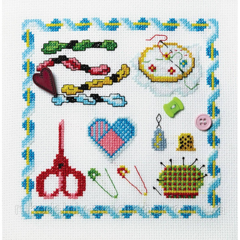 Набор для вышивания крестом ТМ Марья Искусница 11.004.01 Вышивание