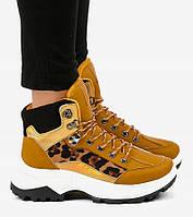 Теплые женские кроссовки на толстой подошве