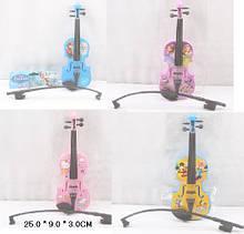 Скрипка на струнах 369-7В сувенір іграшка 26см