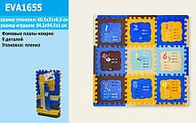 Коврик-пазлы фомовые EVA1655 напольный, математика таблица умножения