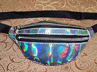 Женская сумка на пояс Отличное качество глянцевый Аврора Цвет искусств кожа только оптом, фото 1