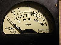 Головка измерительная М1360-21 10мкА, фото 1