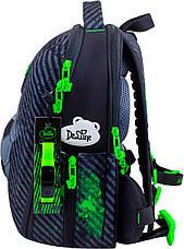 Набор школьный ранец ортопедический каркасный для мальчика Футбол DeLune 7mini-007, фото 3