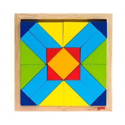 Пазл Goki Мир форм-прямоугольник (57572-4)
