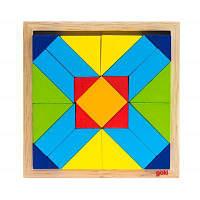 Пазл Goki Мир форм-прямоугольник (57572-4), фото 1