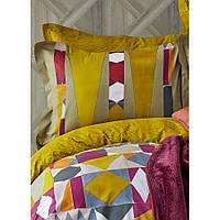 Набор постельное белье с пледом Karaca Home - Vitali 2020-1 евро