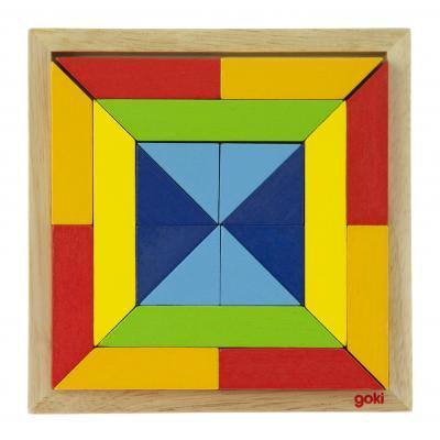 Пазл Goki Мир форм-квадрат (57572-3)