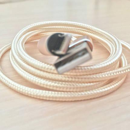 Магнитный кабель, зарядка, зарядный кабель, Floveme iPhone Золотой, фото 2
