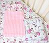 Набор в детскую кроватку (простынь, плед, подушка) Балерины №11, фото 3
