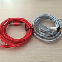 Магнитный кабель, зарядка, зарядный кабель, Floveme type C Серебряный, фото 3