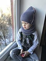 Демисезонная шапка и снуд ., фото 1