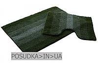 Коврики микрофибра для ванной и туалета Махрамат Dariane Темно-зеленый