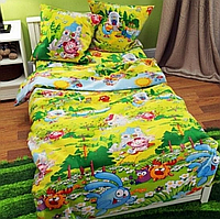 Детское полуторное постельное белье Смешарики