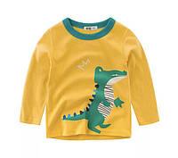 Кофта с крокодилом для мальчика 120-140