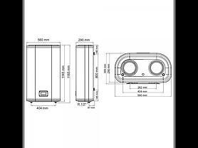 Бойлер Arti WH Flat M Dry 100L/2  602254, фото 3