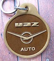 Автобрелок из кожи УАЗ UAZ  брелок для ключей, фото 1