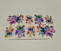 Слайдер дизайн цветы 5296