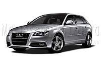 Audi A3 - замена линз на биксеноновые Hella 3R