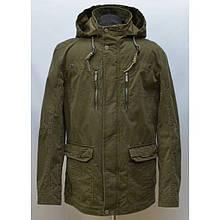 Демисезонная мужская куртка парка большого размера