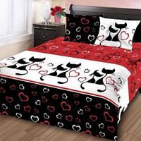 Комплект постельного белья Вензель Полуторный K-G-N-4573-white, фото 1