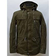 Качественная мужская куртка парка материал коттон от производителя