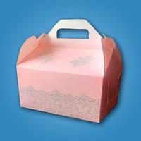 Коробочка для каравая, сладостей и свадебных шишек (арт. RC-25), фото 1
