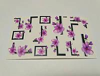 Слайдер дизайн цветы 5590