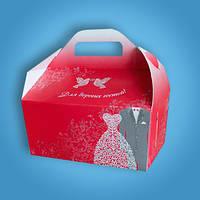 Коробочка для каравая, сладостей и свадебных шишек (арт. RC-30), фото 1
