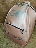 (34*25)Женский рюкзак BALENCIAGA искусств кожа качество городской спортивный стильный Популярный опт, фото 3