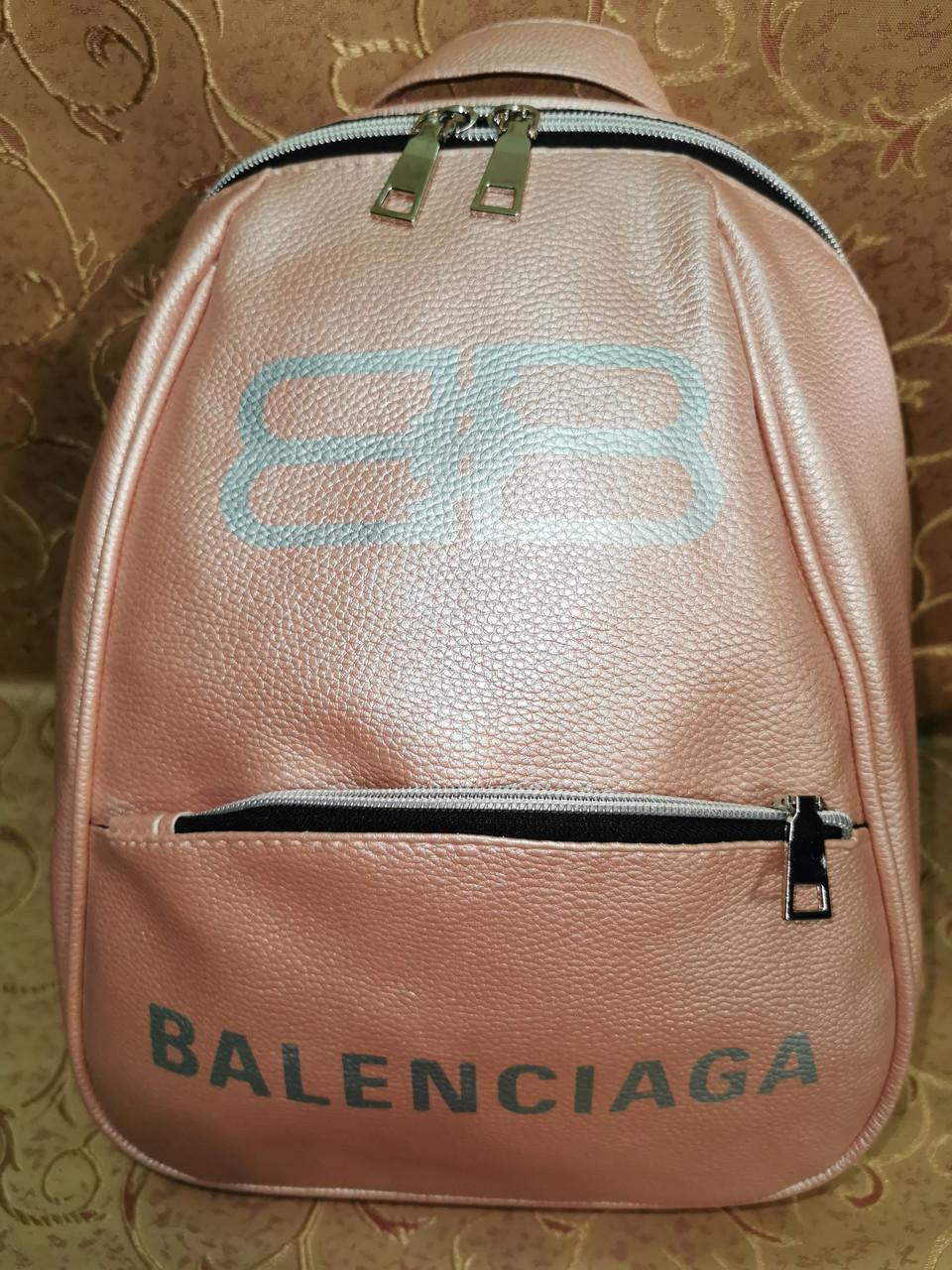 (34*25)Женский рюкзак BALENCIAGA искусств кожа качество городской спортивный стильный Популярный опт