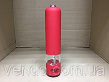 Электрическая мельница для специй с подсветкой Adler AD-4437 / красная