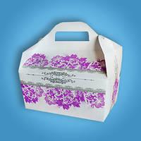 Коробочка для каравая, сладостей и свадебных шишек (арт. RC-33), фото 1