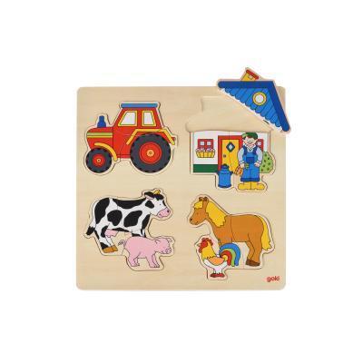 Развивающая игрушка Goki Ферма (57902G)