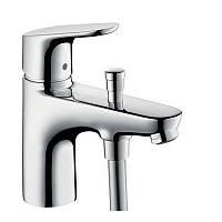 Смеситель для ванны на борт с переключением на душ Hansgrohe Focus E2 31930000