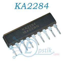 KA2284, индикатор уровня сигнала, SIP9