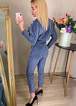 Вельветовый комбинезон женский, фото 2