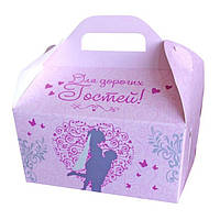 Коробочка для каравая, сладостей и свадебных шишек (арт. RC-40), фото 1