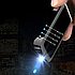 Электроимпульсная USB зажигалка Backlight brushed black 103_1, фото 3