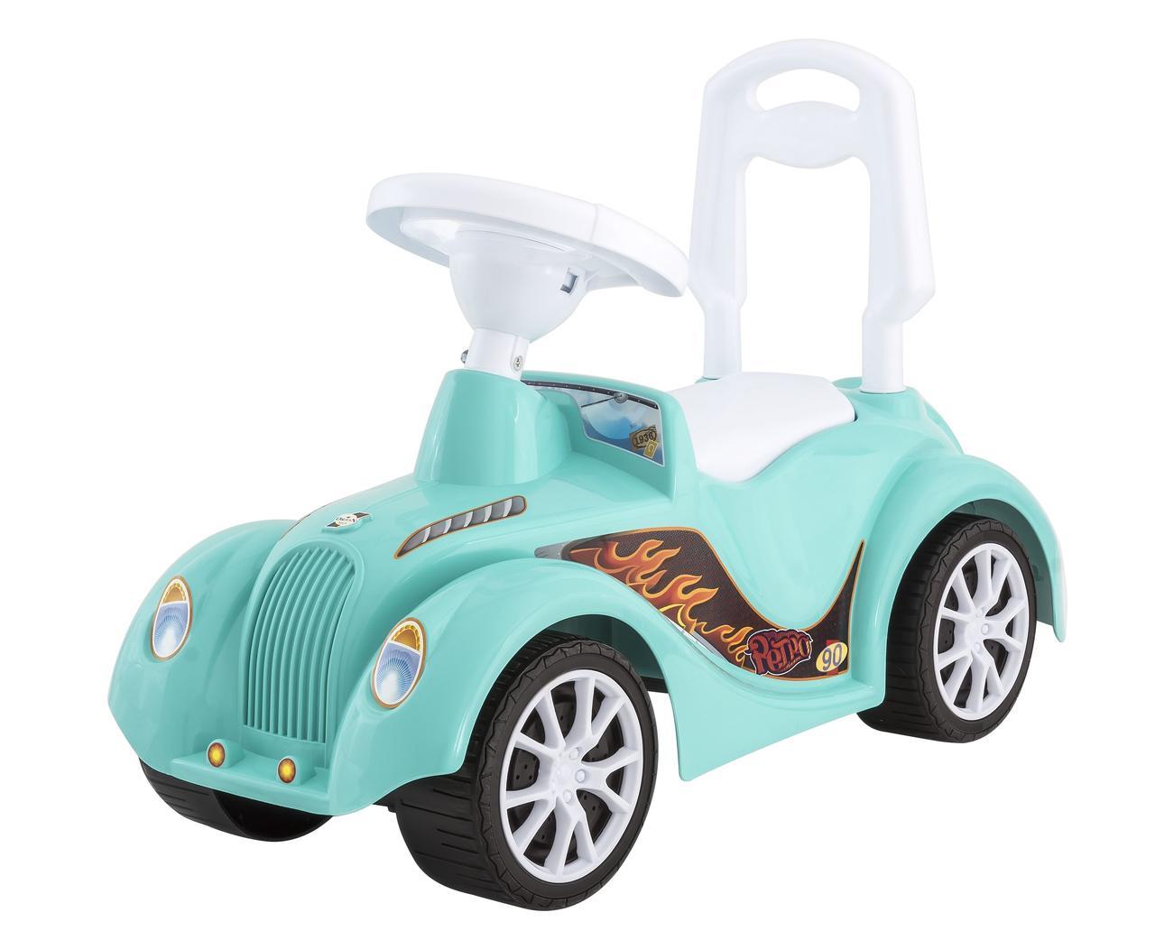 Машинка каталка Ретро Оріон морська хвиля (900 blue)